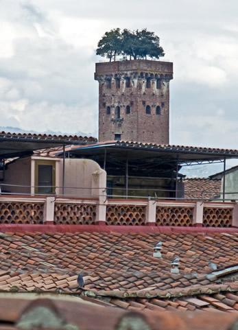 Torre vista da Mansarda A