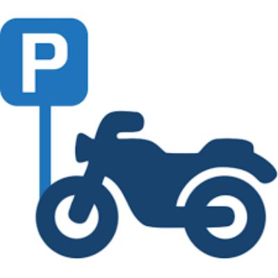 Parcheggio moto Lucca